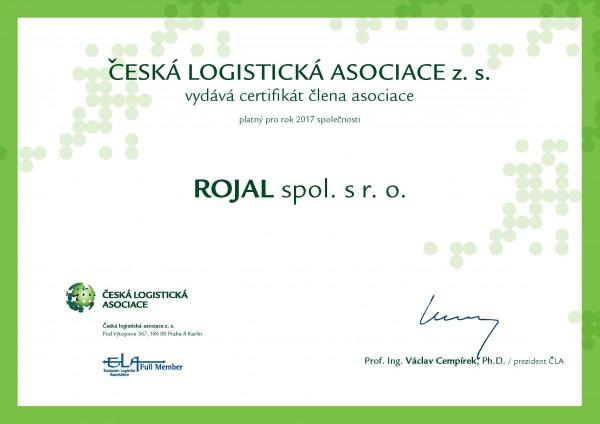 Rojal spol. s r. o. - Česká logistická asociace
