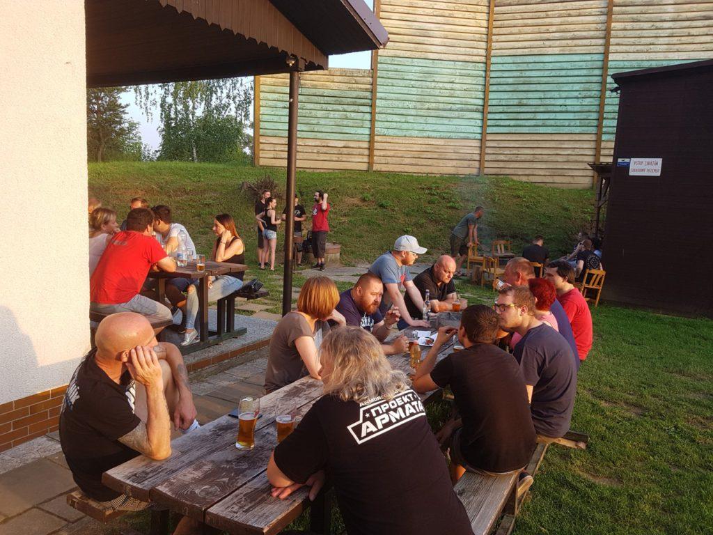 Opékání chata Katovka Uherský Brod